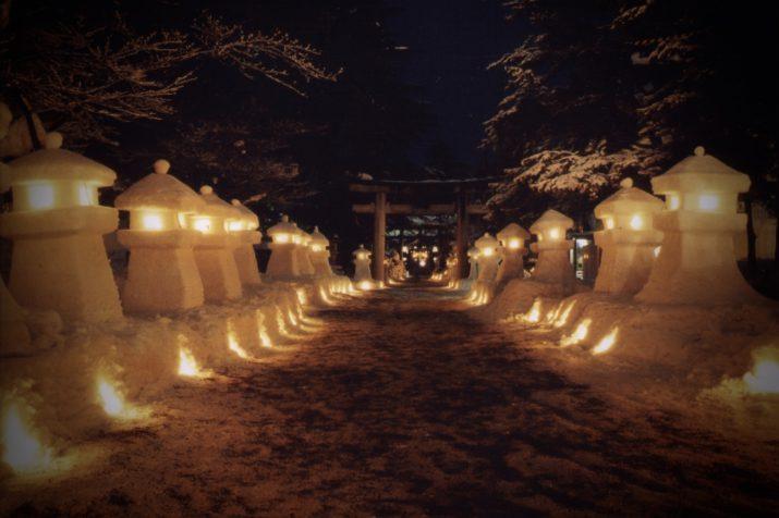 上杉雪灯篭まつり/山形を見る・遊ぶ⑭