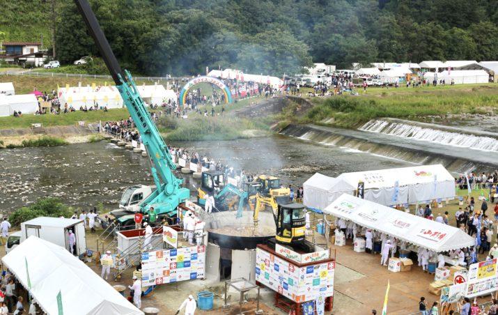 日本一の芋煮会フェスティバル/ 山形を食べる⑪