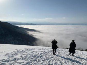 冬の早朝散歩に、幻想的な雲海へご招待