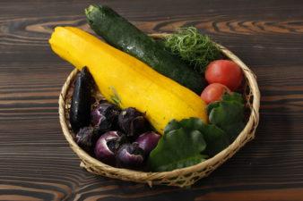 置賜地域ならではの『夏野菜』をご賞味ください